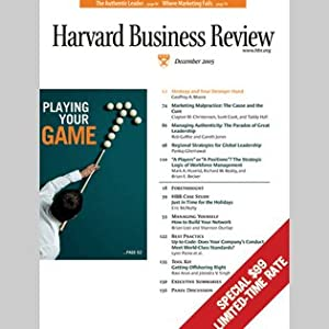Harvard Business Review, December 2005 Periodical