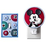 Disney Mod Mickey Mouse Night Light & Switchplate Cover