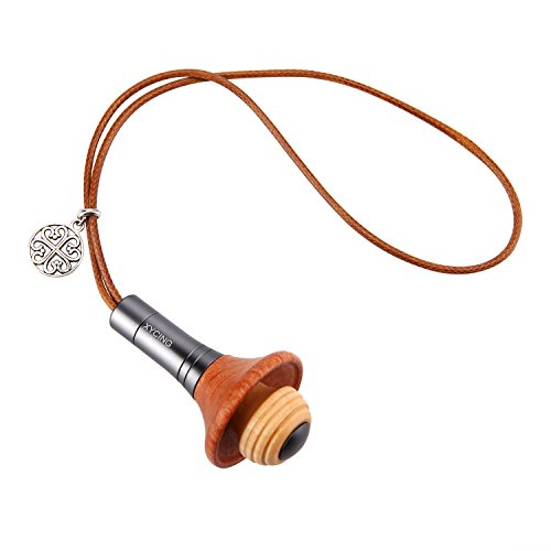 XYCING Wood Essential Oils Diffuser Pendant Style Aromatherapy Fragrance Air Freshener Car Scents Hang Decoration ()