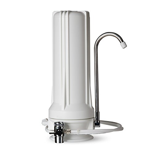 Countertop Pure Multi - iSpring CT10 Countertop Multi Filtration Drinking Water Filter Dispenser - White