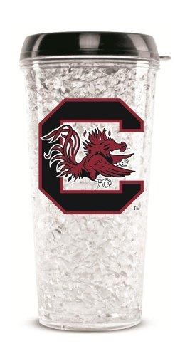 South Carolina Gamecocks Crystal Freezer Travel Tumbler