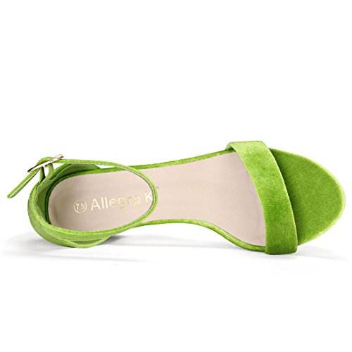 femme cheville Sangle Allegra de Green K nPI0xqCfxw