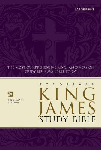 Price comparison product image Zondervan KJV Study Bible, Large Print