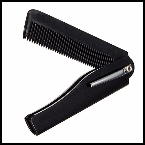 1 Set Combs Hairbrush Mens Womens Handmade Folding Pocket Cl