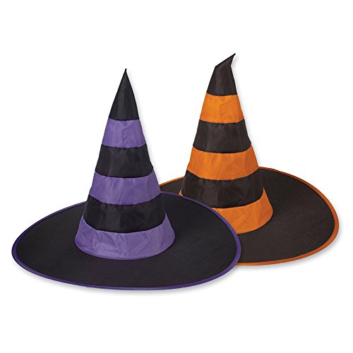 Halloween Nylon Witch Hats Party Accessory (Most Requested Halloween Costume)