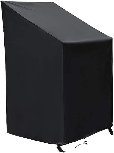 SIRUITON Fundas para Sillas Protectora para sillas de jardín y balcón Sillas contra la Intemperie Resistente al Agua, Protección UV 120 x 65 x 65/81 cm: Amazon.es: Hogar