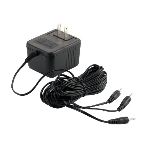 Department 56 Accessories for Villages Halloween AC/DC Adapter for Light, 3.15 inch by Department 56