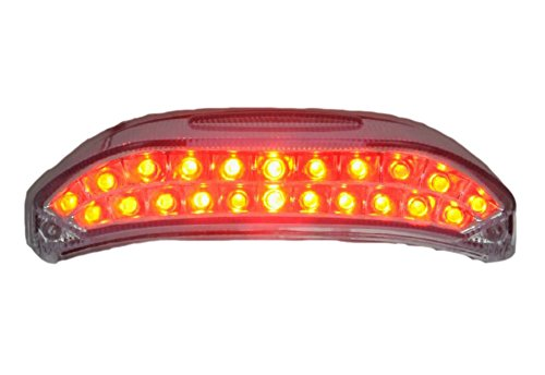 Motorcycle Signal Integrated Smoke Led Taillight for HOND...