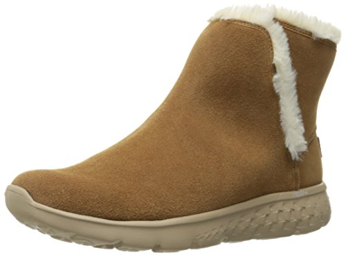 Skechers Performance Women's On The Go 400 Blaze Winter Boot,Chestnut,9 M US