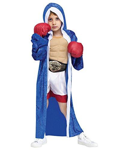 Big Boys' Lil' Champ Boxer Costume - L