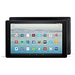 """All-New Fire HD 10 Tablet with Alexa Hands-Free, 10.1"""" 1080p Full HD Display, 32 GB, Black"""