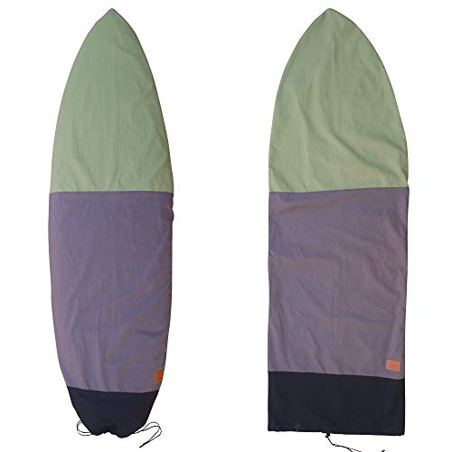 Ho Stevie! Canvas Surfboard Bag Cover [Choose Size & Color] (Black/Gray/Green, 6
