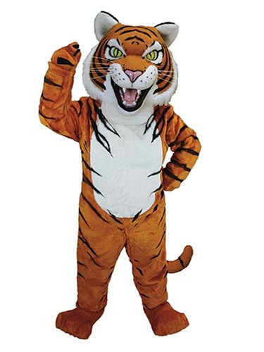 Tiger Cooking Clipart
