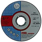 """50 Pack - 4.5""""x.040""""x7/8"""" Quality Thin Cut Off Wheels Metal & Stainless Steel"""