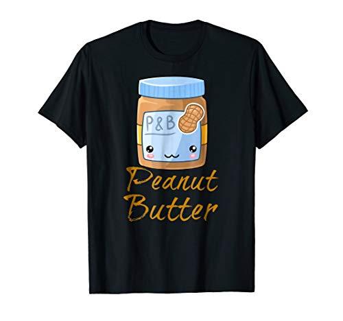 Kawaii Peanut Butter & Jelly PB&J Halloween Matching Tees