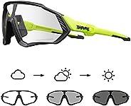KAPVOE Cycling Glasses Men Photochromic Sunglasses Women MTB Mountain Bike Bicycle