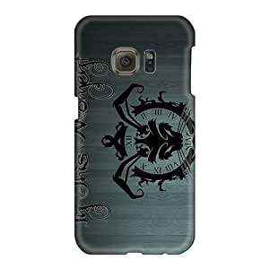 Protective Cell-phone Hard Covers For Samsung Galaxy S6 (wYY16660zsGC) Unique Design Beautiful Maria Brink Band Pattern