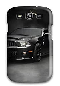 JakeNC Premium Protective Hard Case For Galaxy S3- Nice Design - Black Cobra