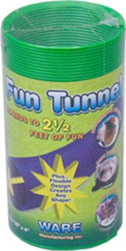 (Ware Manufacturing Fun Tunnels Play Tube for Small Pets, 30 X 4 Inches - Medium)