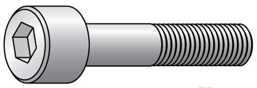 5/16-24 x 3 - Black Finish Heat Treated Alloy Steel - Cap Screws - Socket Head