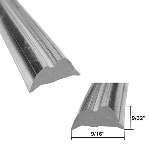 (Clear Shower Door Replacement Spline 9/16