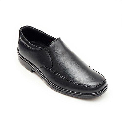 AARZ LONDON Herren Formal Clever Schlüpfen Büro Arbeit Abend Party Kleid Leder Schuhe Größe Schwarz