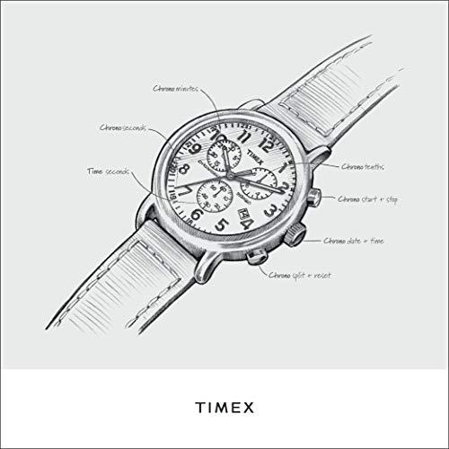 287fd3982 Timex Men's TW2P71300 Weekender Chrono Blue Nylon Slip-Thru Strap Watch