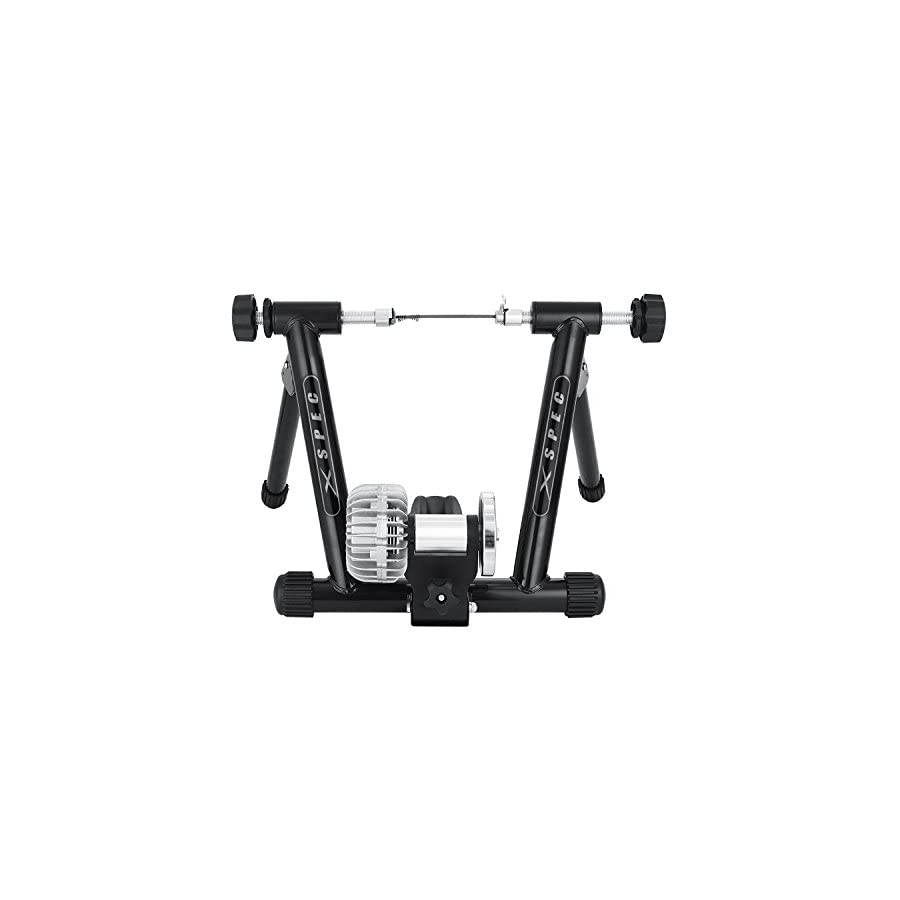 Xspec Fluid Exercise Bike Trainer Stand with Fluid Resistance Indoor Bike Cycling Stand