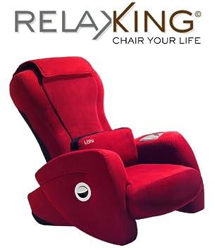 Massagesessel Ijoy 130 Massagessel Von Human Touch Farbe Rot Amazon