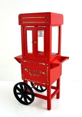 Dolls House Miniature Fairground Circus Popcorn Making Machine by Town Square - Miniature Circus