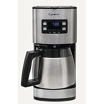 Capresso 435.05 Coffee Maker, Stainless Steel