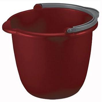 sterilite 14 quart red spout pail