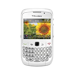 BlackBerry Curve 8520 Quad-Band Unlocked Cell Phone with 2 MP Camera, Bluetooth and Wi-fi - US Warranty-White