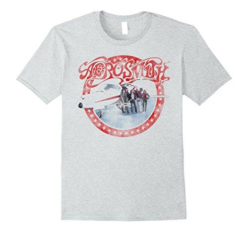 Mens Aerosmith - AEROplane T-Shirt Large Heather - Garth Costume