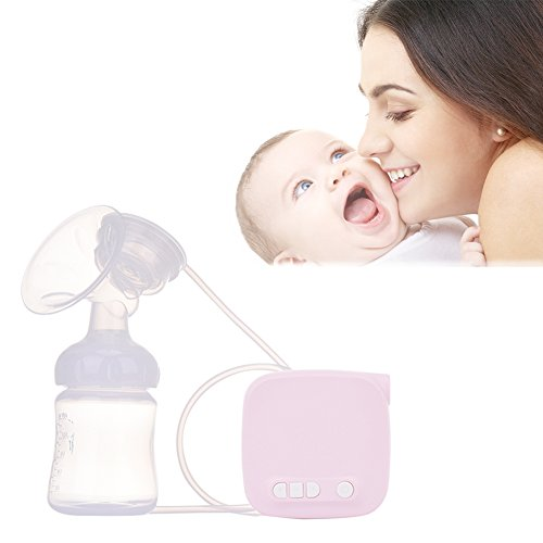 Samber Electric Breast Pump Automatic Massage Postpartum Prolactin Mute Super Suction Breast Milking Machine Breast Massager Automatic Milk Suction Portable Pump for Travel and Home (A)