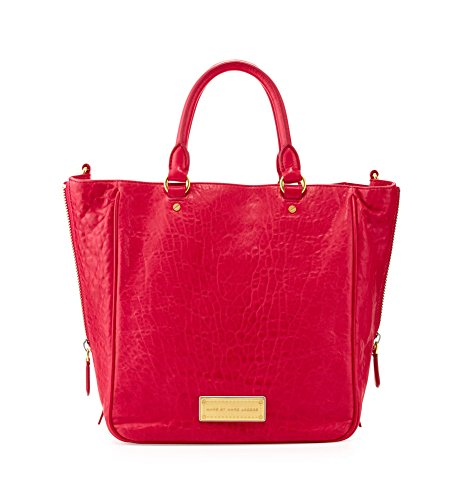 Marc by Marc Jacobs Washed Up Leather Tote, Raspberries