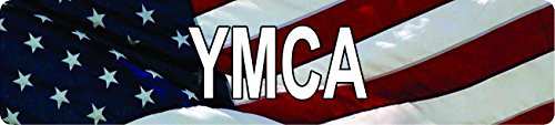 Any and All Graphics American USA Flag YMCA 8