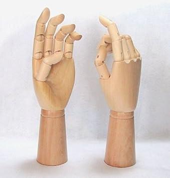 wooden hand model drawing hand model interior ring hand man left