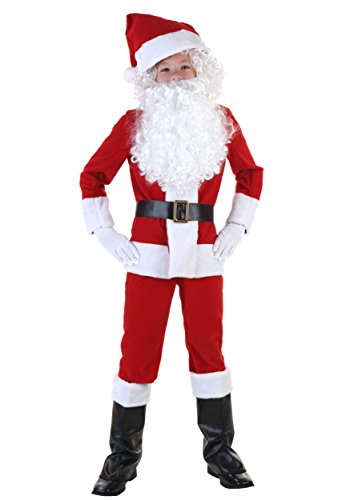 Child Santa Costume Medium (8-10)