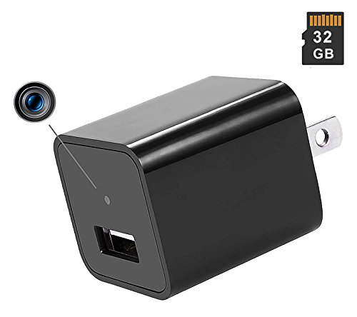 Camera USB Charger  Full HD 1080P Loop Recording Video Motio