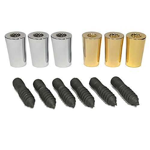 Tap Handle Repair Kit (Includes 3 gold ferrules + 3 chrome ferrules + 6 bolts) ()