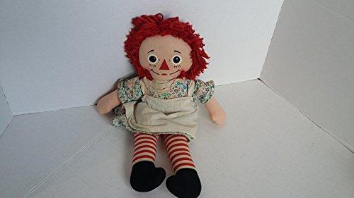 Vintage Raggedy Ann Doll ~ Knickerbocker ~ 15 Inch ~ (Raggedy Ann Knickerbocker)