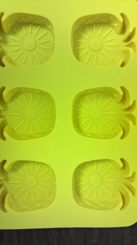 Personal Pineapple upside Down Silicone Cake Pan