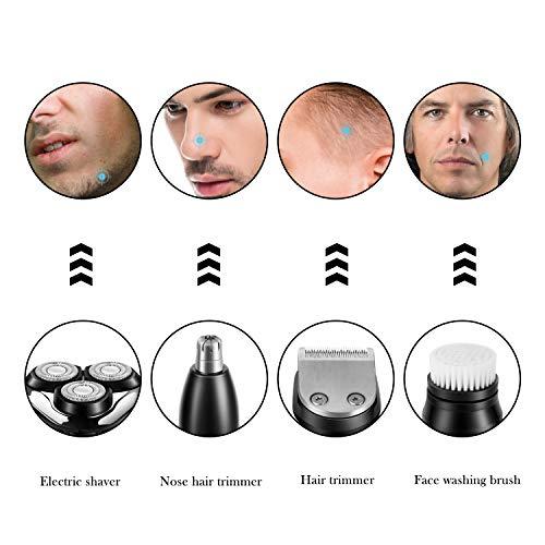 Men's Electric Shaver Razor & Beard Trimmer, 4 In 1 Trimmer Grooming Kit
