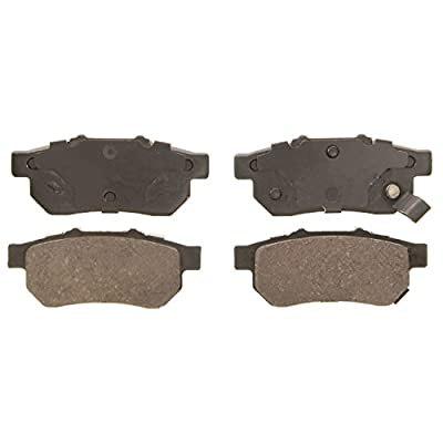 Wagner QuickStop ZD564 Ceramic Disc Pad Set, Rear: Automotive