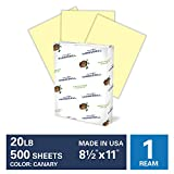 Hammermill Canary Colored 20lb Copy