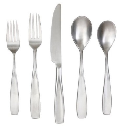 - Cambridge Inez Satin 20-Piece Flatware Set