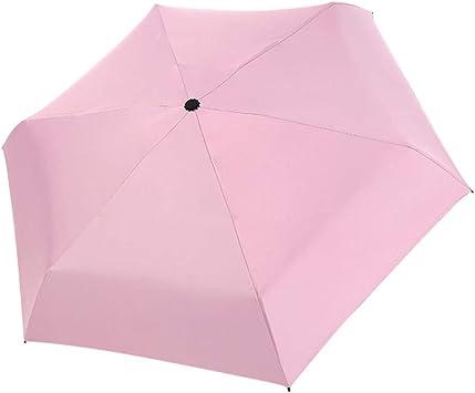 Mini Fashion Pocket Folding Umbrella Anti UV Waterproof Sunny Rain Umbrella