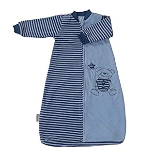 Baby Wearable Blanket with Sleeves, Baby Sleeping Bag and Sack,Velvet Cotton Warm Soft 2.0 TOG