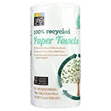 365 Everyday Value 100% Recycled Paper Towels, (Jumbo Roll), 1-Count